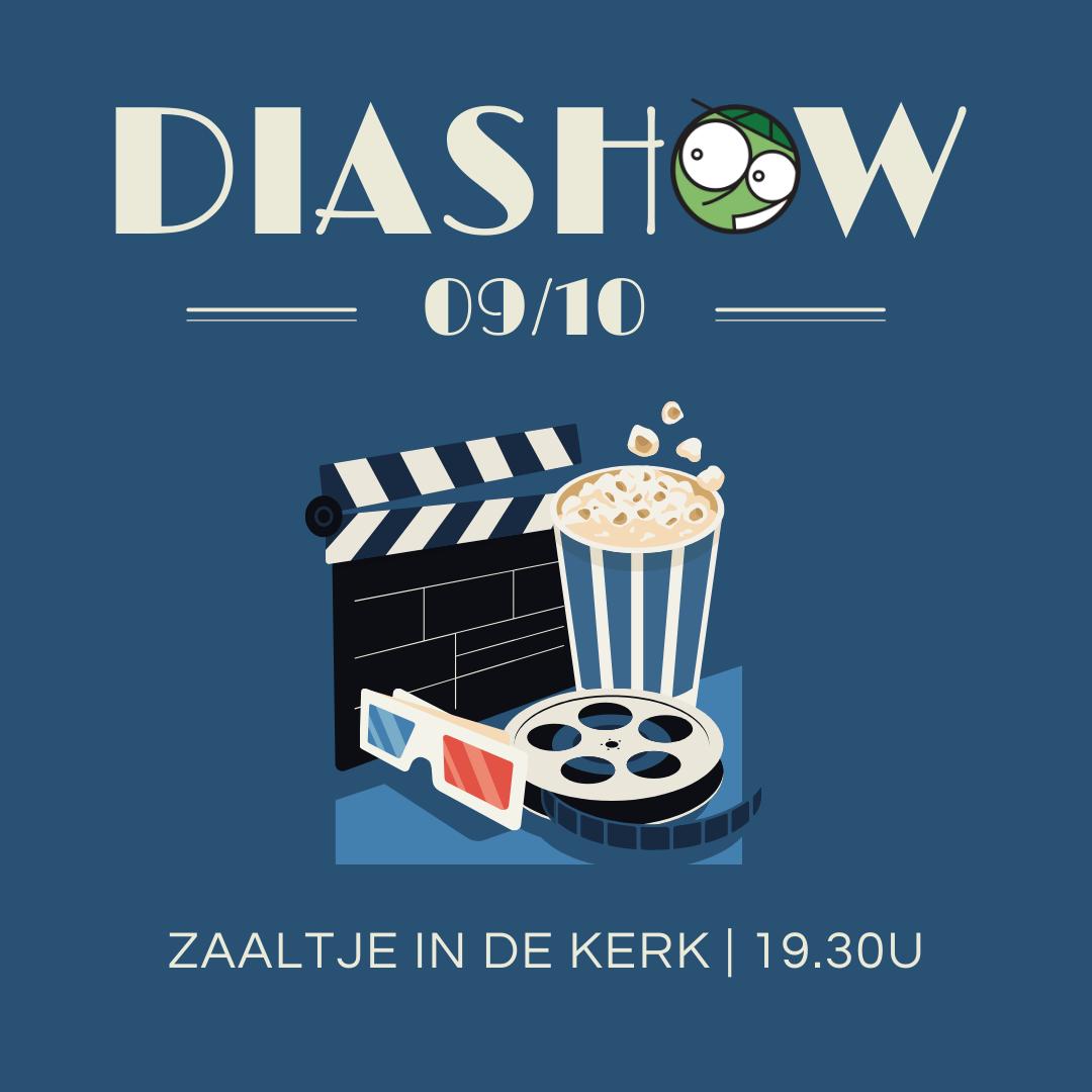 Diashow aankondiging